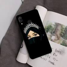 Yinuoda мультяшный хиджаб Эстетическая мусульманская девушка ilham malah PhoneCase для Xiaomi Redmi Note7 5 4 Redmi5plus 7A 6A Note8 4X Note8Pro(Китай)