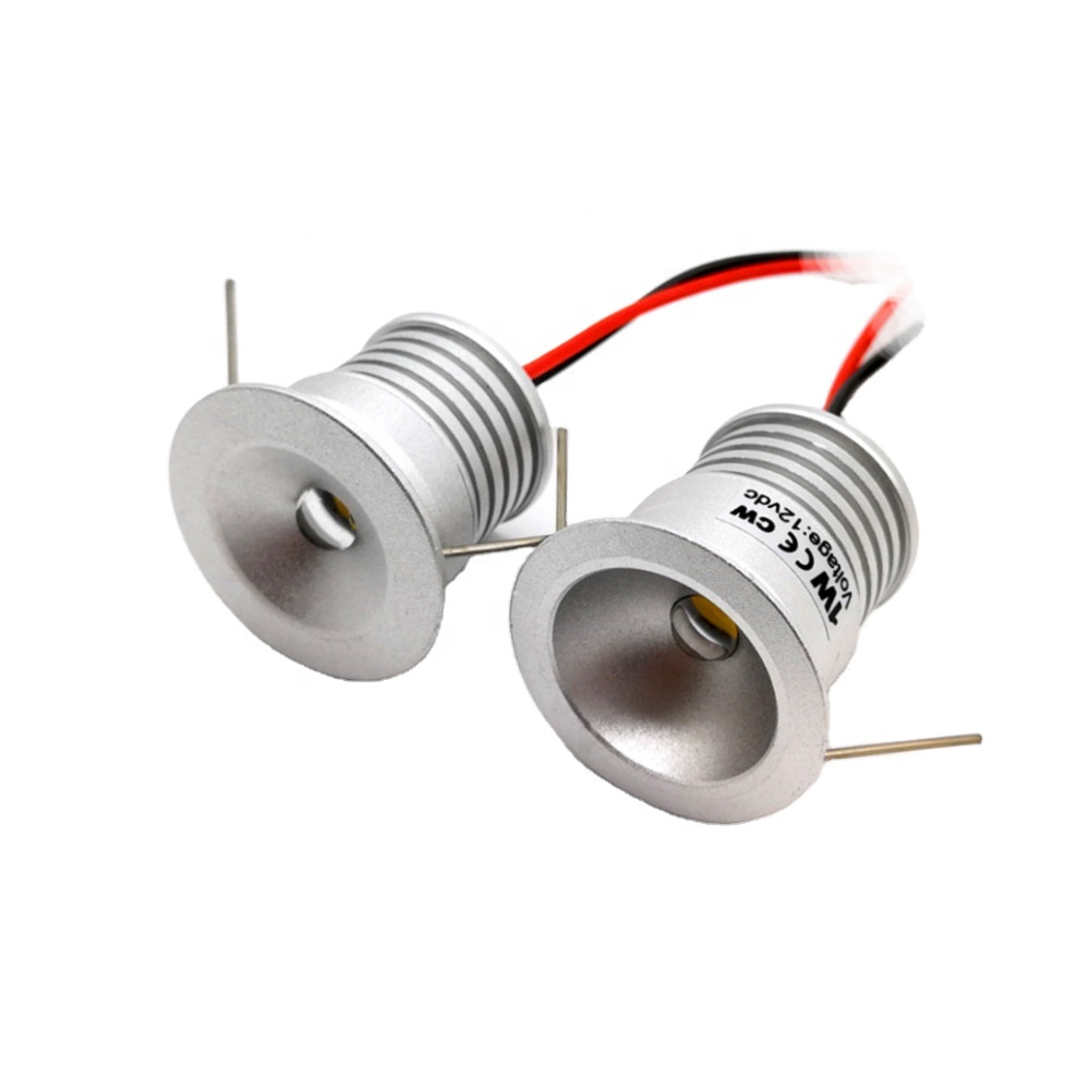High quality aluminum Downlight ceiling recessed 1W Round led Spot Down Light