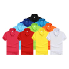 wholesale clothing nice anti-pilling vertical striped men's polo shirt