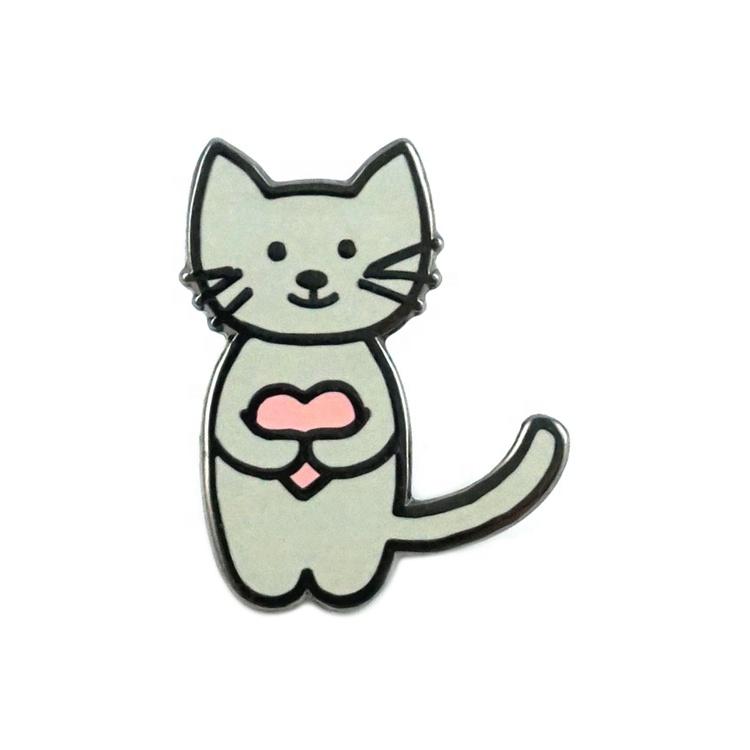 China Factory Wholesale No Minimum Personalized Logo Hard Soft Enamel Custom Metal Lapel Pins for Clothes
