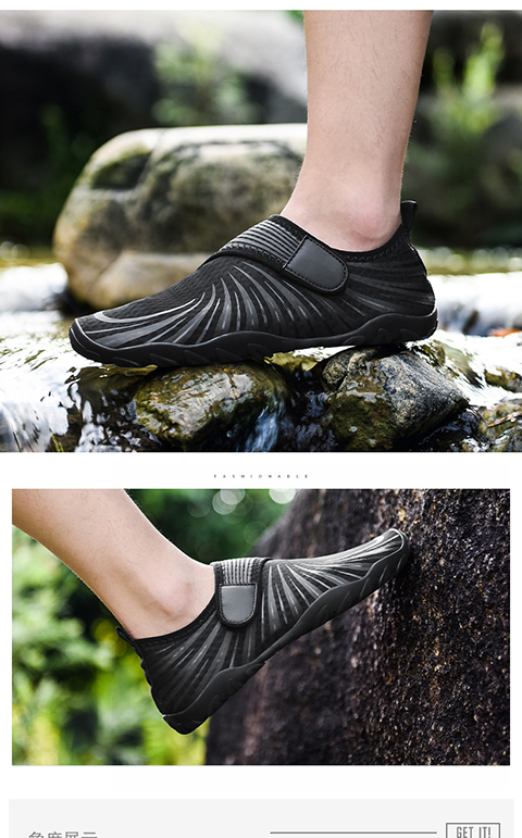 Water-Auqa-Shoes Mesh-Sneakers Sporty Breathable Beach Men for Male Camping Mountain-Wading