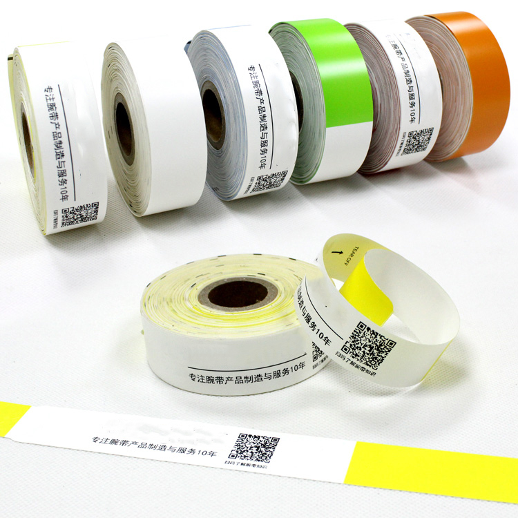 High Quality Anti Tear Adult/Infant Hospital Printing Medical Wristband With Plastic Snap