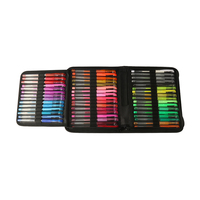 48 colors artist metal glitter gel ink pen set