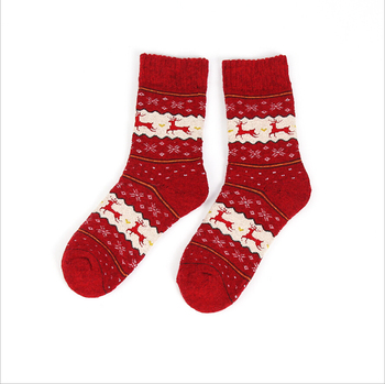 Women And Men Christmas Comfortable Stripe Cotton Sock Short Ankle Sock fashion christmas socks gift calcetines mujer