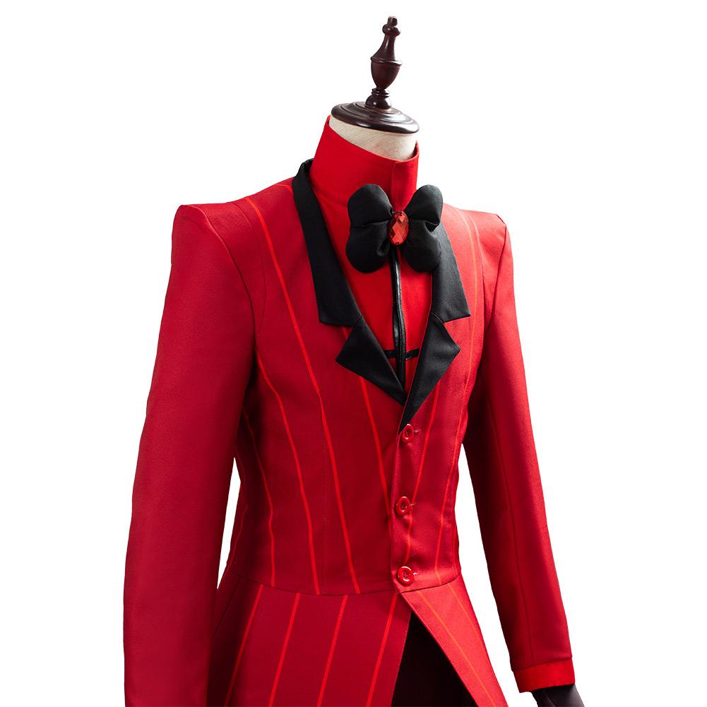 Hazbin Cosplay Hotel ALASTOR Cosplay Costume Outfit Full