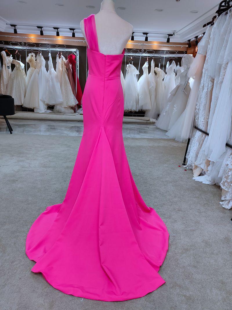 #7640 Sweetheart Cheap Dusty Pink Bridesmaid Dress Autumn Custom Bridesmaid Dress