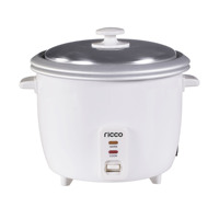 Small Kitchen Appliance Electric Automatic Rice cooker 1.8L with Double Pots