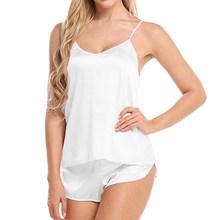 Женская пижама с шортами, сексуальная ночная рубашка, ночная рубашка, домашняя одежда, # w(Китай)