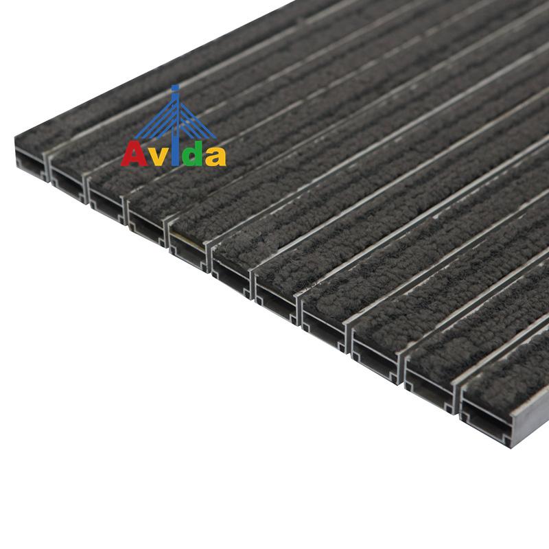 Comercial ao ar livre Liga de Alumínio Tapetes de Entrada para o Hotel