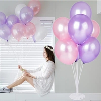 2019 Newest Hot selling party decoration colored transparent crystal balloons Clear latex Balloon for wedding baby shower