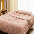 Japanese style wholesale bedding sets, non-printed pure cotton bed sheet set