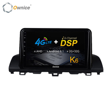 Ownice Touch Screen Android Car Multimedia DVD Player Per Honda Accord 2018