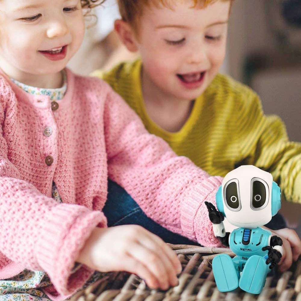 Amazon Hot Sale Talking Robot Toys, Recording Children Interactive Toy, Mini Touch Control Electronic Education Robots