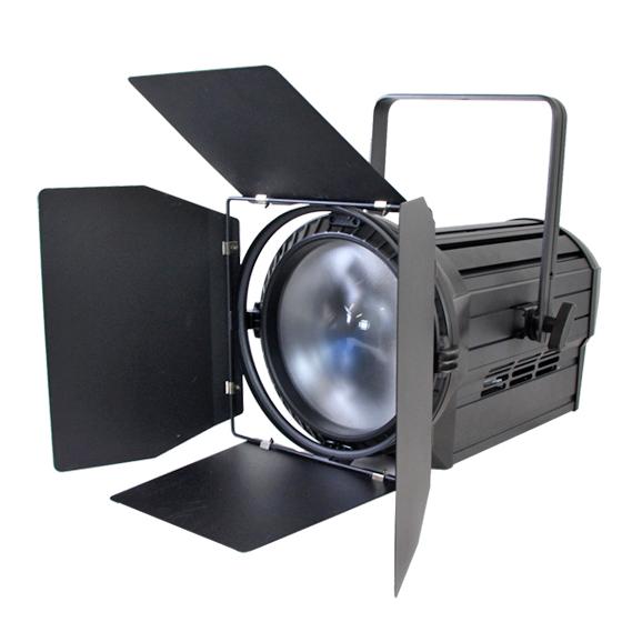 Vangaa 5in1 Colorful Fanless LED Fresnel Spot light film Studio Fresnel Continuous Daylight