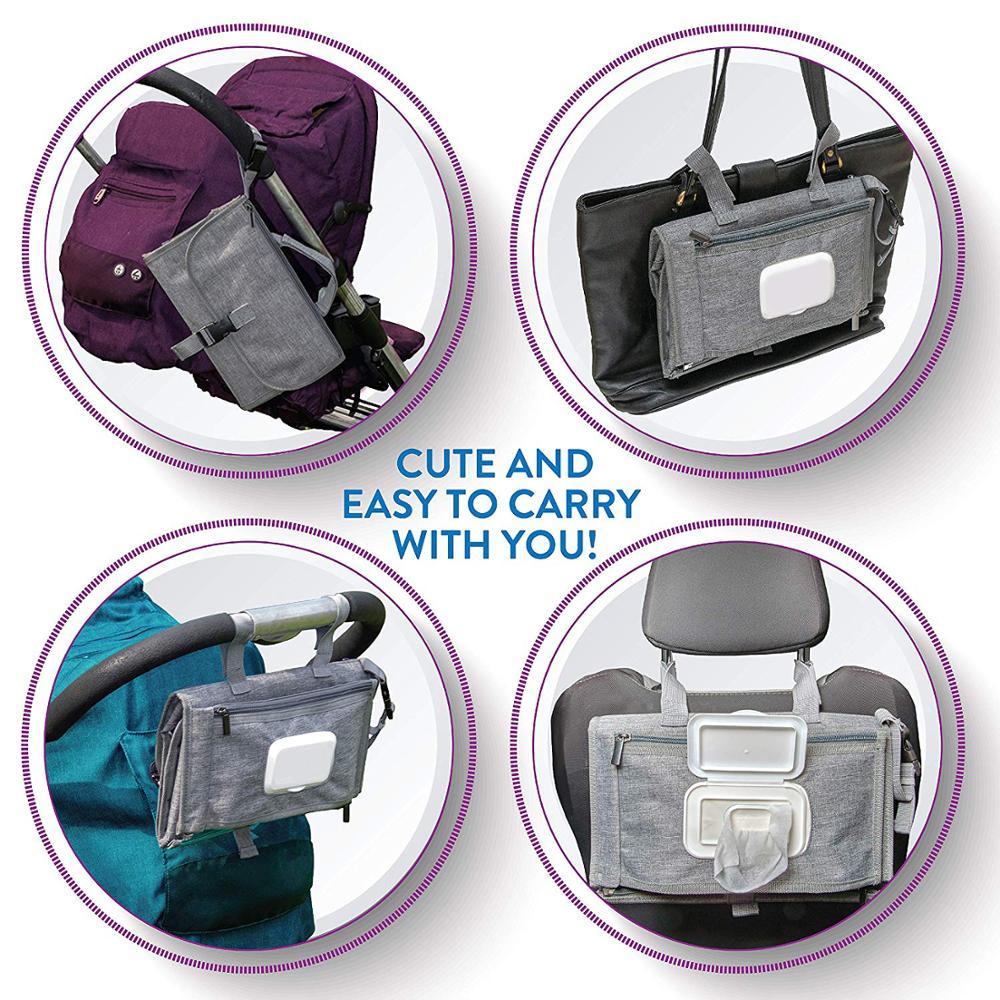 Waterproof Portable Baby Diaper Changing Pad
