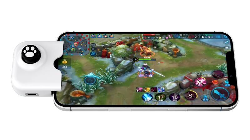 مصغرة جويستيك المحمول أذرع التحكم في ألعاب الفيديو قبضة مشغلات الوسادة ل LOL/PUBG/Call Duty/Fotnite/AOV/CS دائرة الرقابة الداخلية والروبوت الهاتف