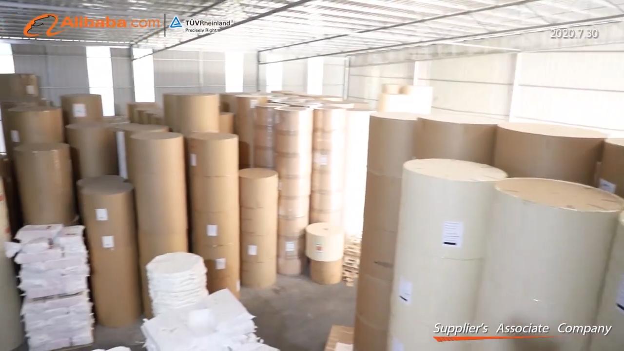 ผลิต PE เคลือบกระดาษม้วนสำหรับถ้วยกระดาษดิบวัสดุ