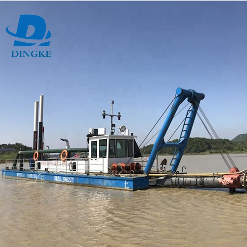 Hot sale best quality hydraulic river sand cutter suction dredger for river sea dredging