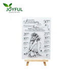 Craft stamps clear custom art rubber stamps/DIY decoration stamp