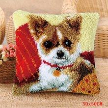 Набор для вышивания ковров Foamiran, Набор для вышивания подушек и пуговиц, посылка(Китай)