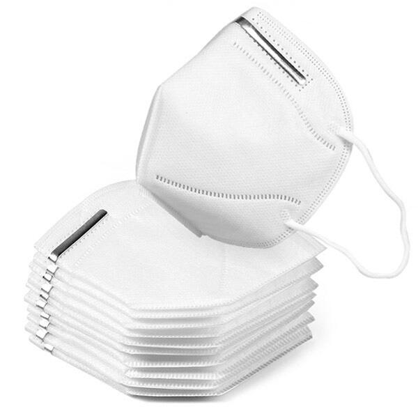 N95 Face Mask Standard Disposable Mask 5 Layers Elastic Earloop
