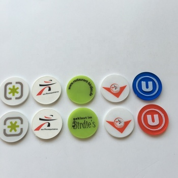 cheap eco-friendly plastic tokens