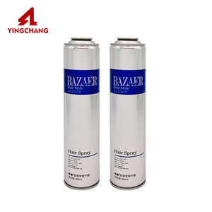 Wholesale tinplate empty tin hair spray glue color aerosol can