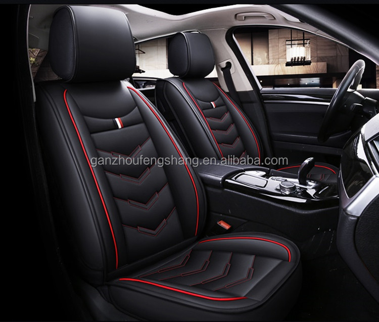 Wholesale Price Classical Waterproof Car Seat Cushion Cover Universal Car Seat Cover leather