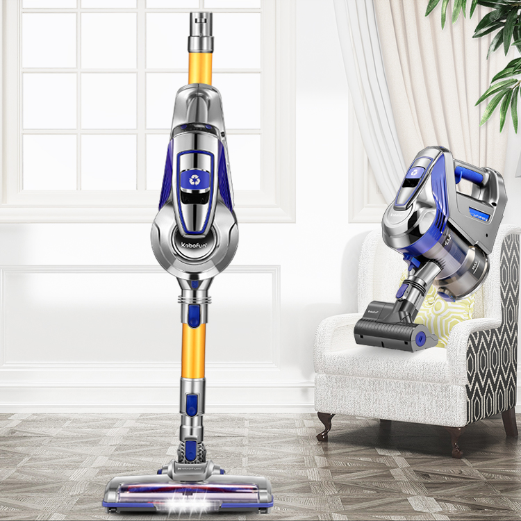 Front Led Light Deep Bottom Cleaning Portable Rechargeable Handheld Cordless Stick Vacuum Cleaner