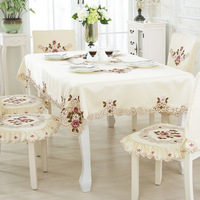 Cheap Fancy Tablecloth, European Embroidered Table Cloth Wholesale Modern Table Cloth/