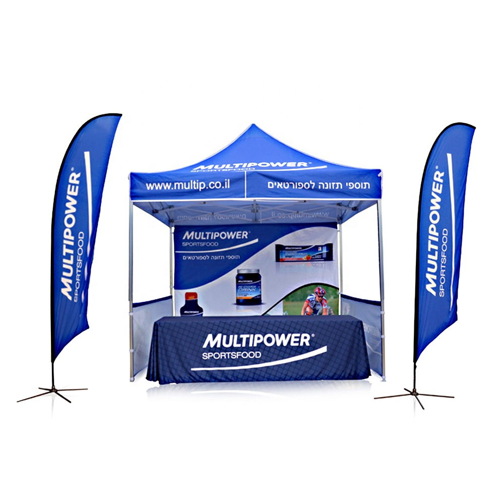 Pdyear outdoor onderdak luifel reclame gazebo trade show event custom tentoonstelling vouwen 10x10 ez pop up canopy marquee tent