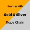 4mm_Gold & Silver_Rope