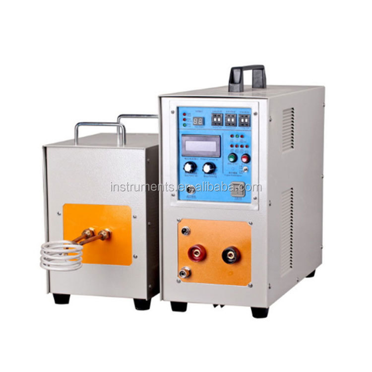 High-Frequency Induction Heater of Furnace with Heating Station and Control Station