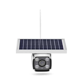 2019 new wireless outdoor CCTV solar for security ip camera  4G-HD Solar IP camera