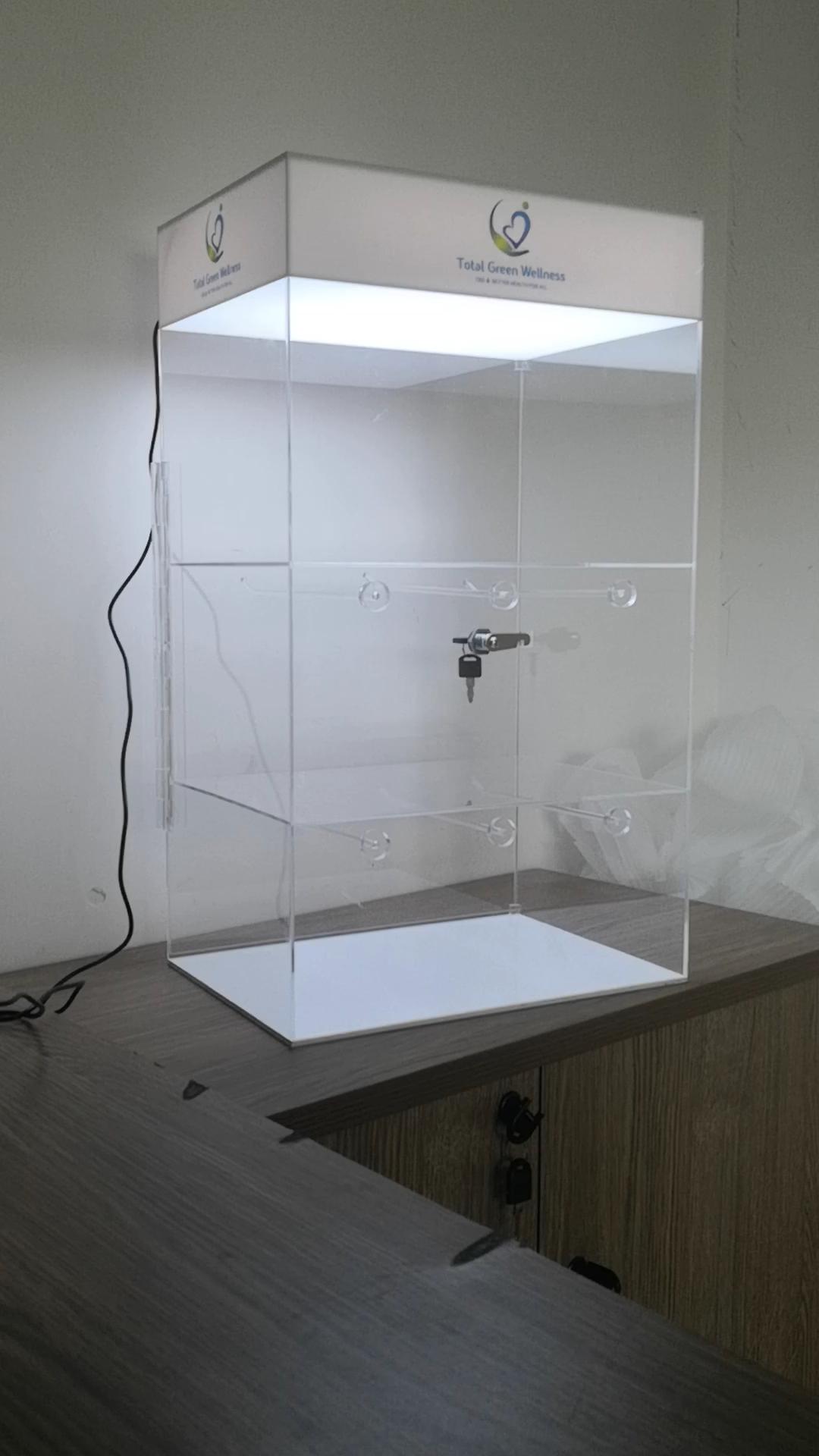 Ucuz ucuz tezgah üstü akrilik e-sıvı ekran pleksiglas buharlaştırıcı E sigara ekran mağaza