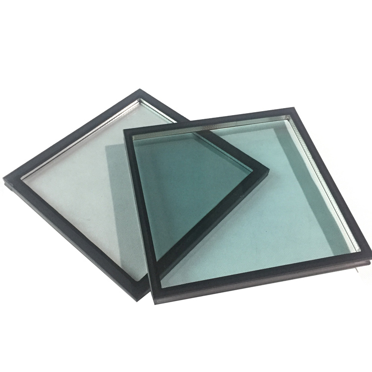 Insulated building glass 5+9A+5 clear tempered glass roof panels prices