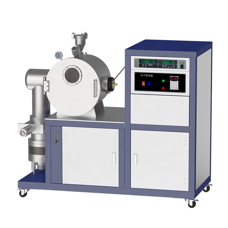 Lab High temperature 2000C stainless steel Vacuum Melting System with cooling machine