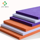 Color polyester fiber material decorative soundproof non-woven felt