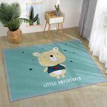 Европейский ковер 150*200 см, напольный коврик с лебедем, Противоскользящий коврик для гостиной, коврик с кроликом, домашний коврик в стиле пэч...(Китай)