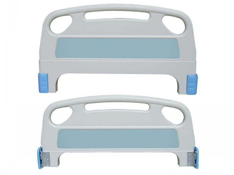 Cheap price high quality hospital bed ABS guardrails with angle indicator