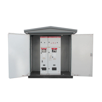 Outdoor European Type Compact tower transformer substations