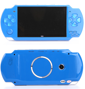 Handheld Game Console 32 Bit 8gb 4.3 Inch HD Mp5 Game Console x6 Fc Portable Handheld Game Player