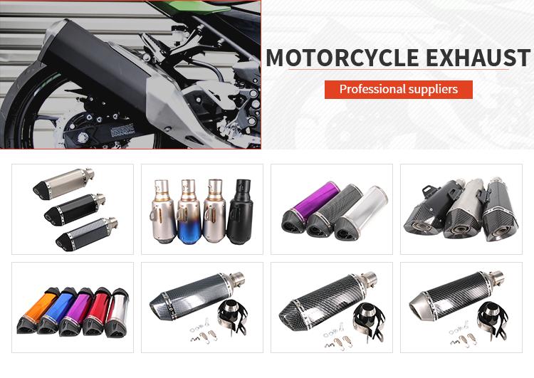 새로운 accesorios para motos 머플러 고품질