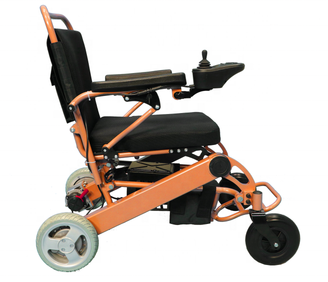 Health Care Product 8 Inch Medical Used Electric Wheelchair Foldable