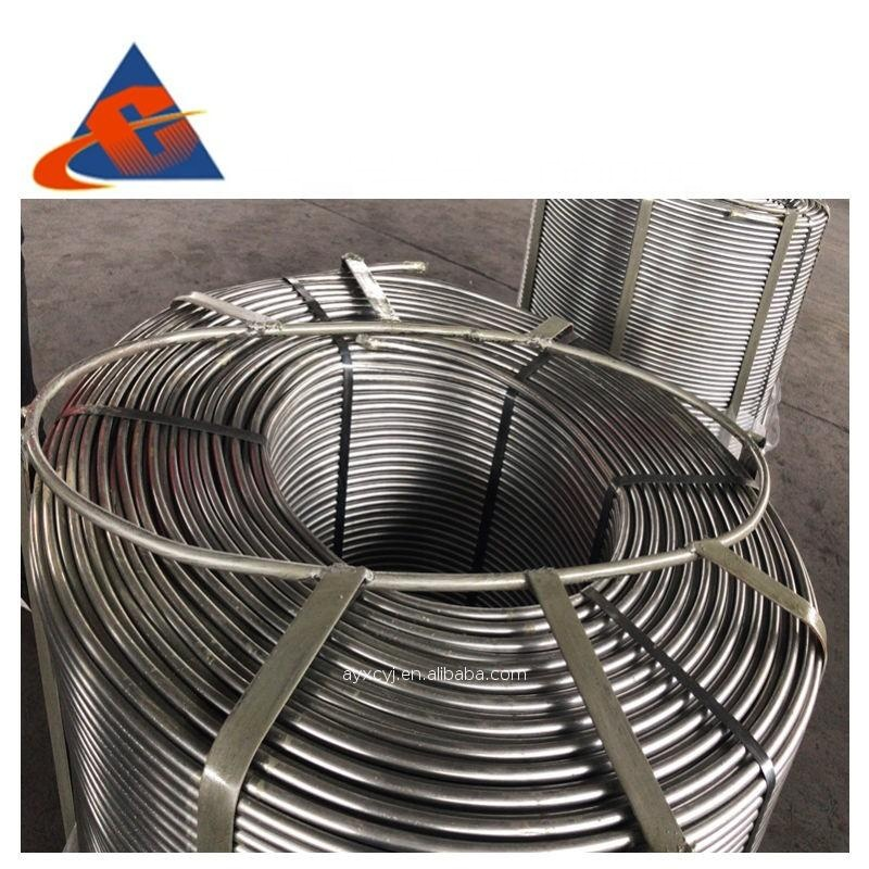 Calcium Silicon Ca30Si60 cored wire producer at factory price