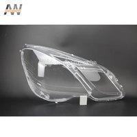AW Car Headlight Lens Lampshade For W212 2009-2012 E200 E260 E300 E350 Car Lights Headlight Head Lamps Covers Glass Shell