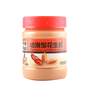 Factory HACCP Certification Wholesale Natural Sauce Paste 340G Smooth Peanut Butter