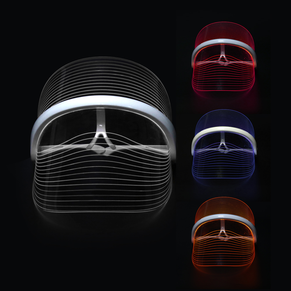 2020 Led photon light therapy face mask 3 colors led facemask