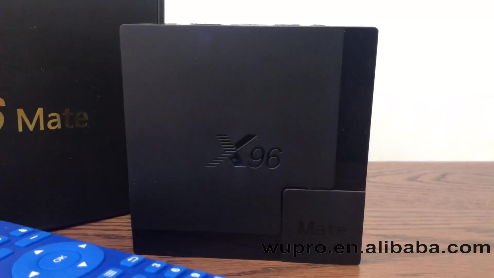 ТВ-приставка Wupro tvbox x96 10,0 android 4g lte x96 mate