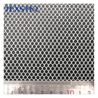 100% polyester hexagon honeycomb mesh fabric for shoe bag chair hat cap lining